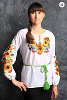 Вышиванка блуза  женская   2000 ( С.Е.С.), фото 1
