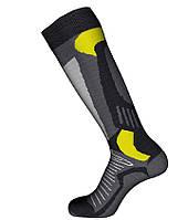 Шкарпетки лижні Emmitou 38-40 Black-Grey-Yellow - 187643