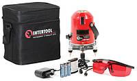 ✅ Уровень лазерный INTERTOOL MT-3009 (2 лазерные головки)