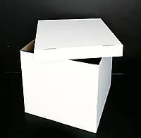 Коробка-сюрприз 700*700*700 мм, Белая, без печати, ХИТ