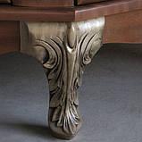 Тумба Атолл Верона 120 (скуро), столешница мрамор, 1240х570х880 мм, фото 4