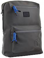 Молодежный рюкзак YES soft-touch T-62  «Grey Shadow» 15 л (557301)
