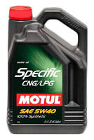 "Масло моторное синтетическое ""Specific CNG/LPG 5W-40"", 5л"
