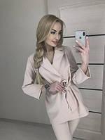 Костюм женский брюки+жакет 42-46 рр., фото 1