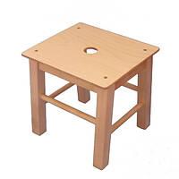 """Детские стулья """"Хокер"""" 34см - Детские деревянные стульчики КИНД"""