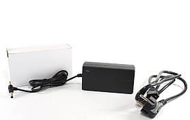 Адаптер 12V 4A Пластик + кабель (разъём 5.5*2.5mm)  (100) в уп. 100шт.