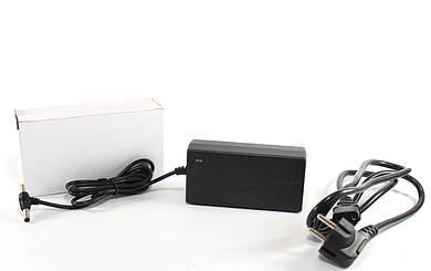 Адаптер 12V 4A Пластик + кабель (разъём 5.5*2.5mm)  (100)