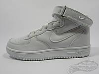 Детские кроссовки Nike Force белые