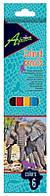 Economix. Карандаши цветные Africa, 6 штук (4044572115294)