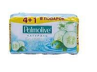 Palmolive. Мыло Натурэль Зелений чай и Огурец 5*70г (8693495034555)