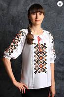 Вышиванка блуза  женская Чорнобрывци  3000 ( С.Е.С.)