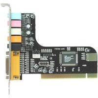 Звуковая карта внутренняя Manli C-Media M-CMI8738-6CH (PCI, 6 каналов (5.1), Dolby Digital EX, EAX, MIDI, выхо