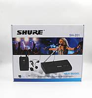 Микрофон DM SH 201, Беспроводной микрофон, Вокальный микрофон, Радиомикрофон с базой