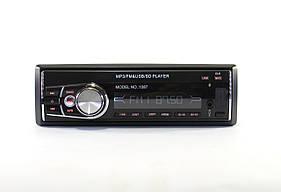 Автомагнитола MP3 1087 съемная панель  + ISO кабель  (20)
