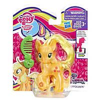 Пони фигурка Май Литл Пони Эпплджек  кристальная My Little Pony Explore Equestria Applejack