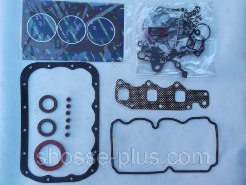 Повний комплект прокладок для ремонту двигуна Daewoo Matiz 0.8