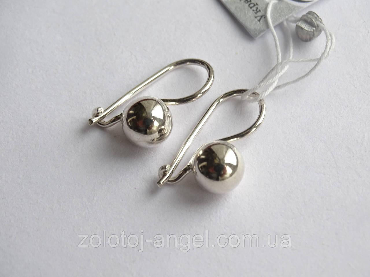Серьги серебряные (детские)