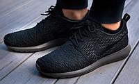 Кроссовки мужские Nike Roshe Run Flyknit (найк роше ран)