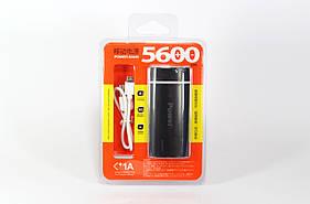 Моб. Зарядка POWER BANK 5600ma (200)