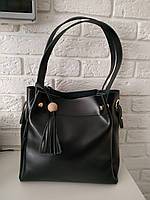 """Женская кожаная сумка """"Асия Black"""", фото 1"""