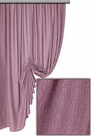 Портьерная ткань легкая мешковина, цвет сиреневый