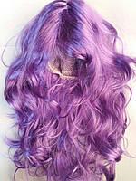 Карнавальный парик фиолетовый