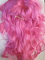 Карнавальный парик малиновый