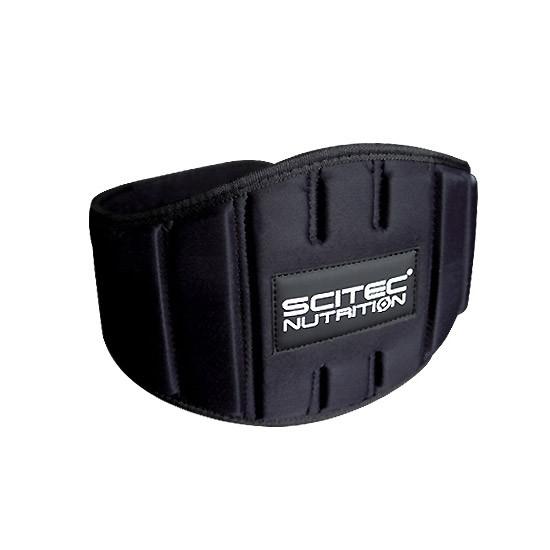 Пояс атлетический Scitec Nutrition Belt Fitness S черный