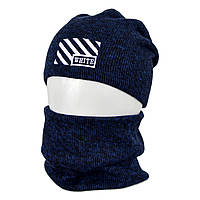 Комплект шапка+баф Off-White оптом, фото 1