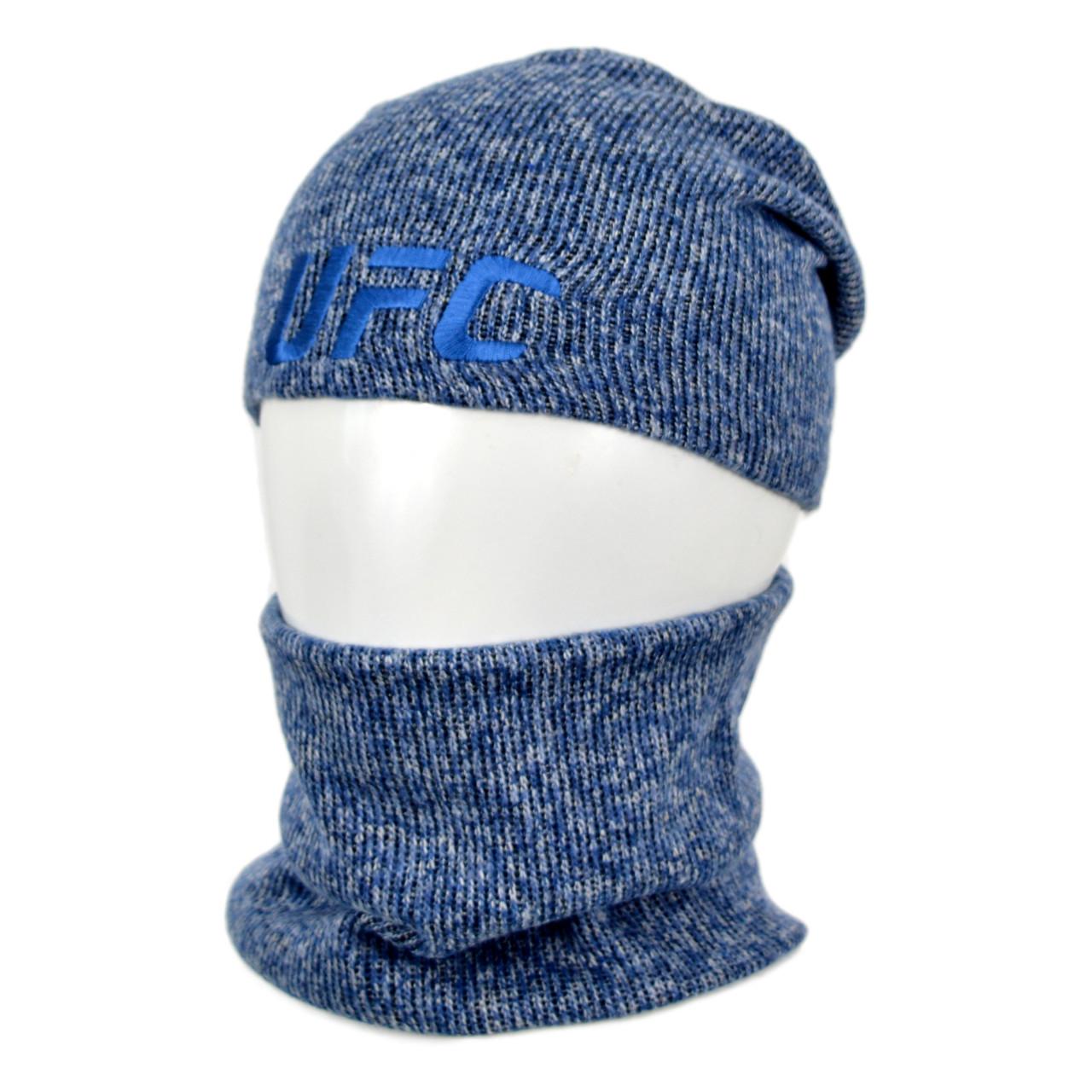 Комплект шапка+баф UFC SP1901 джинс