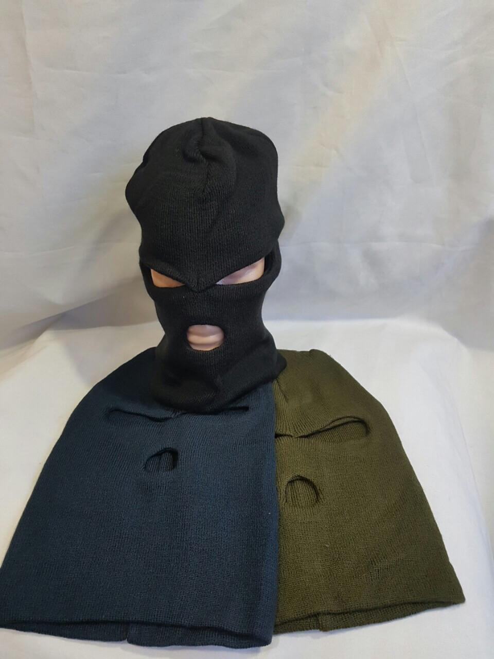 Шапка чоловіча в'язана шерсть+ акрил оптом зі складу в Одесі.
