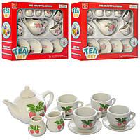 Набор посуды YH5989-01-05 (72шт) фарфор, чайный сервиз на 4персоны, микс вид, в кор-ке, 25-21-7,5см