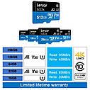 Профессиональная оригинальная карта памяти Lexar micro SD 32 Gb class 10 633x + SD reader, фото 9