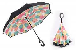 Зонт наоборот Up-brella умный зонт-трость