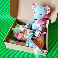 Подарочный набор Мишка или Слоник ( на выбор)