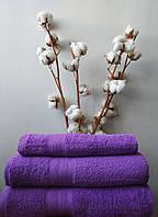 Полотенце махровое 420 г Nostra фиолетовое 30х30 см
