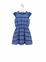Платье для девочки Bembi ПЛ 244 синее 74