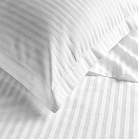 Простынь Boston Jefferson сатин белый в полоску 240х260 см