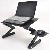 Столик для ноутбука с USB-охлаждением и подставкой для мышки  Т8