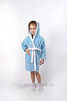 Халат детский Lotus Зайка новый голубой 7-8 лет