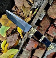 Охотничий нож с кожаными ножнами