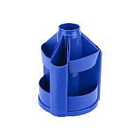 Подставка-органайзер пластиковая синяя 10 отделений, 125*155 мм, Delta by Axent, D3004-02, 32810