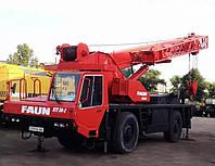 Автокран Faun RTF 30 1995р.