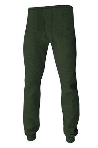 Термобелье - мужские термо-штаны (зеленый)