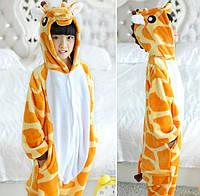 ✅ Детская пижама Кигуруми Жираф 130 (на рост 128-138см)
