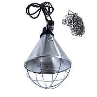Защитный плафон для инфракрасной лампы с переключателем на 3 положения