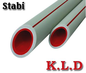 Полипропиленовая труба K.L.D. Stabi PN25 20х2,8