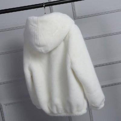Женская коротка шубка искусственный мех, фото 2