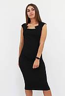 S, M, L, XL / Класичне жіноче плаття-футляр Roksen, чорний