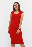 S, M, L, XL / Класичне жіноче плаття-футляр Roksen, червоний